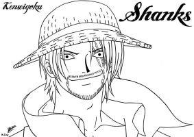 Art KSG Shanks 047 by kenseigoku
