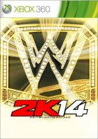 WWE 2K14 cover (unfinished) by ultimate-savage