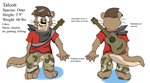 Otter Tal reference 2.0 by Deimos128