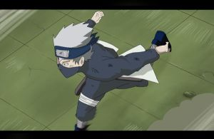 Kakashi  Anime Exams fight by Nohealsfoyou