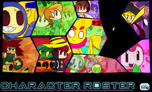 My Character Roster! by Coonstito