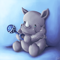 Rhino Rattle by parochena