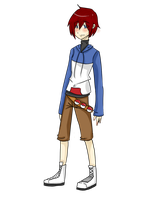 .:PKMN OC Crimson of Johto:. by ibitecandy