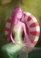 Princess Bubblegum by octopus-interphone