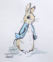 Beatrix Potter - Peter Rabbit by SweetCherriLove