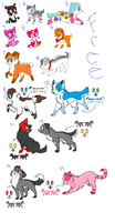Free Adoptables ::CLOSED:: by MimiTheFox