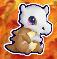 Cubone by Clinkorz