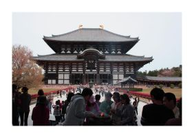 Todaiji Temple by morphi1972