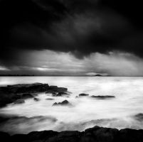 Storm Over The Ocean by eye-of-tom