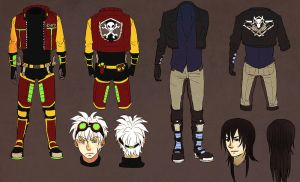 CHROMA: Reference sheets. by Minyi