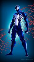 Symbiote Spiderman by albundyland