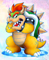 Bowser - Dream Team Style by NeoZ7
