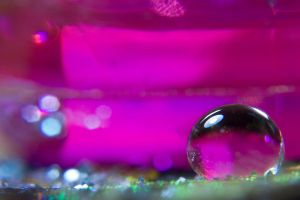 Pink glass by AngiWallace