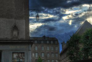 Cloudy HDR by n0stalgiie