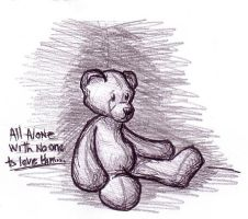 Emo Bear by cybill