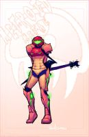 Metroid Metal tribute N2 by Ross-A-Campbell
