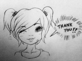 Thank you!!! by Herujrocker