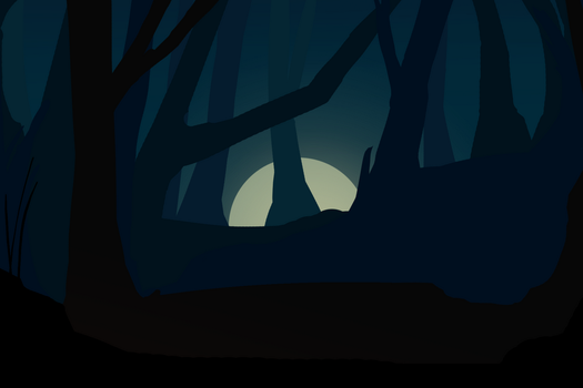 Forest Wallpaper by Lezdraws