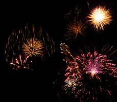 Fireworks Stock IX by Melyssah6-Stock