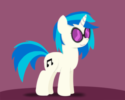 Paper-like Vinyl Scratch by postcrusade