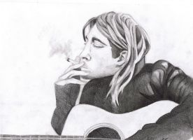 Kurt Cobain. by Freakiniilse