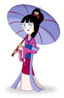 PnF - Stacy as Mulan by JaviDLuffy