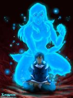 Cosmic Korra Born by SolKorra