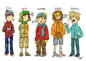 Southpark At Styleeeeeeeeeeee by PolitosBurritos
