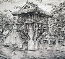 Chinese Shrine by silicon-jayce