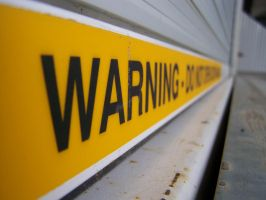 WARNING, perspective by photoflick