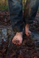 Winter barefoot walk 8 by PhilsPictures