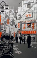 Tokyo morning by boogaloo-design