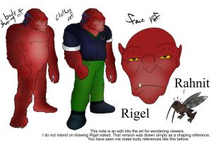 Rigel Reference Sheet by systemcat