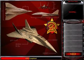 RA2 - Soviet's MiG by datmax
