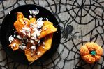 Pumpkin goat cheese Salad by chaosqueen122