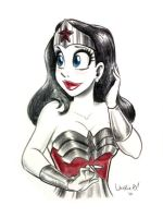 Heroes Con Wonder Woman by ArtofLaurieB