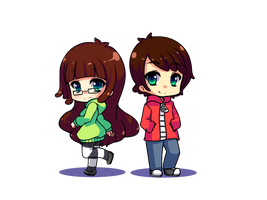 Jaltoid Chibis by H--neko