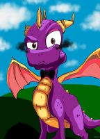 Spyro the dragon by Jemura42