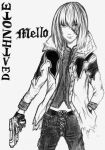 Mello from death note by jigoku-no-hane