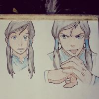 Korra Fan art by J-DE-DEA