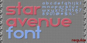 Star Avenue Font by sapphirepsg