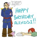 Happy Birthday alexds1 by JLavisant