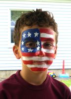 American Flag by Luthienshadows