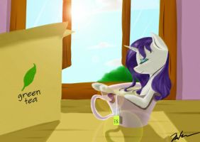 Tea Cup Rarity by Camaine