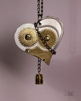 Steampunk heart 47 by TheCraftsman