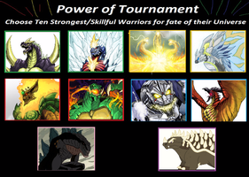 Tournament of Power - The Mightiest of Warriors by kahnac