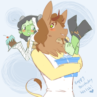 Welshie Cake Fluff by Ruhianna