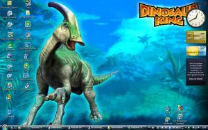 Dinosaur King desktop by SSJGarfield