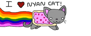 NYAN CAT by PlatypusLuver