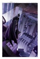 Batman colors pg 1 by Nezart